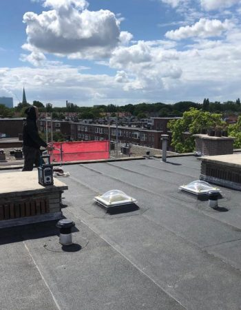 Aanleg nieuw dak Den Haag